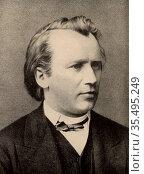 Johannes Brahms (1833-1897) German composer. Редакционное фото, агентство World History Archive / Фотобанк Лори
