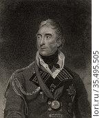 Thomas Graham, Baron Lynedoch (1750-1843) Scottish general. Редакционное фото, агентство World History Archive / Фотобанк Лори