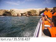 Boat trip to Ballestas Islands (Islas Ballestas), Paracas National... Стоковое фото, фотограф Matthew Williams-Ellis / age Fotostock / Фотобанк Лори