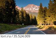 Mount Shasta Shastina Cascade Range California National Forest. Стоковое фото, фотограф Zoonar.com/Christopher Boswell / easy Fotostock / Фотобанк Лори