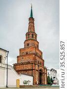 Soyembika Tower is probably the most familiar landmark and architectural... Стоковое фото, фотограф Zoonar.com/Boris Breytman / easy Fotostock / Фотобанк Лори