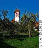 Kirche in Nehren, Baden Württemberg, church in Nehren, germany. Стоковое фото, фотограф Zoonar.com/Jürgen Vogt / easy Fotostock / Фотобанк Лори