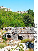 Anatolia from the hill in asia turkey termessos old architecture and... Стоковое фото, фотограф Zoonar.com/LKPRO / easy Fotostock / Фотобанк Лори