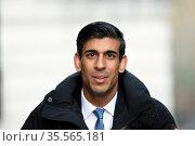 Rishi Sunak; British politician who has served as Chancellor of the... (2020 год). Редакционное фото, агентство World History Archive / Фотобанк Лори