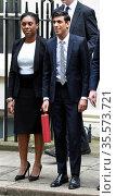 Kemi Badenoch, Exchequer Secretary to the Treasury with Rishi Sunak... (2020 год). Редакционное фото, агентство World History Archive / Фотобанк Лори