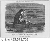 The 'Silent Highway'-Man': Your Money or your Life.  More an open... Редакционное фото, агентство World History Archive / Фотобанк Лори