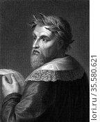 Ludovico Ariosto (1474-1533) Italian poet; author of the epic poem... Редакционное фото, агентство World History Archive / Фотобанк Лори