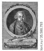 Carl Philip Emanuel Bach (1714-88) second son of Johann Sebastian... Редакционное фото, агентство World History Archive / Фотобанк Лори