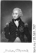Horatio Nelson (1758-1805) Ist Viscount Nelson. English naval commander... Редакционное фото, агентство World History Archive / Фотобанк Лори