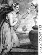 Emma, Lady Hamilton (c1765-1851) wife of Sir William Hamilton, mistress... Редакционное фото, агентство World History Archive / Фотобанк Лори