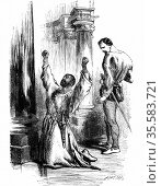 Shakespeare 'Othello' Act 3 Sc.3: Iago leads Othello to believe that... Редакционное фото, агентство World History Archive / Фотобанк Лори