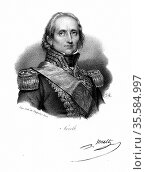 Nicolas Jean de Dieu Soult (1769-1851) French soldier; created Marshal... Редакционное фото, агентство World History Archive / Фотобанк Лори