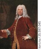 George Frederick Handel (1685-1759) German-English composer born ... Редакционное фото, агентство World History Archive / Фотобанк Лори