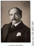 Leander Starr Jameson (1853-1917) Scottish-born South African statesman... Редакционное фото, агентство World History Archive / Фотобанк Лори