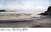 Douarnenez:  Brittany' - Tide Coming In - Sunday Morning', 1876. ... Редакционное фото, агентство World History Archive / Фотобанк Лори