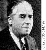 Andre Geraud (1882-1974) French nationalist anti-fascist journalist... Редакционное фото, агентство World History Archive / Фотобанк Лори