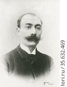 'Andre Charles Prosper Messager (1853-1929) French composer, conducor... Редакционное фото, агентство World History Archive / Фотобанк Лори
