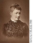 'Augusta Victoria of Schleswig-Holstein (1858-1921), wife of William... Редакционное фото, агентство World History Archive / Фотобанк Лори