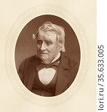 'John Arthur Roebuck (1801-1879) c1880, English lawyer and  radicalipolitician... Редакционное фото, агентство World History Archive / Фотобанк Лори