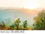Rural landscapes in Northern Thailand. Стоковое фото, фотограф Zoonar.com/Galyna Andrushko / easy Fotostock / Фотобанк Лори