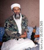 Osama bin Mohammed bin Laden 1957 – May 2, 2011 founder of al-Qaeda... Редакционное фото, агентство World History Archive / Фотобанк Лори