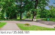 Feofaniia Park in Kyiv, Ukraine. Стоковое фото, фотограф Sergii Zarev / Фотобанк Лори