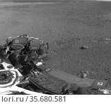 This 360-degree panorama shows evidence of a successful first test... Редакционное фото, агентство World History Archive / Фотобанк Лори