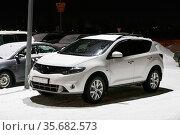 Nissan Murano. Редакционное фото, фотограф Art Konovalov / Фотобанк Лори