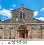 Saint Madeleine church is a Romanesque church was built in the 12th... Стоковое фото, фотограф Zoonar.com/Boris Breytman / easy Fotostock / Фотобанк Лори