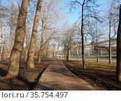 16-ая Парковая улица. Район Северное Измайлово. Город Москва. Россия (2020 год). Редакционное фото, фотограф lana1501 / Фотобанк Лори