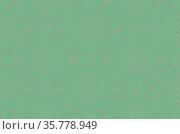 Бесшовный абстрактный узор на зеленом фоне. Стоковая иллюстрация, иллюстратор Галина / Фотобанк Лори