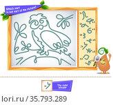 which find part brainteaser owl. Стоковая иллюстрация, иллюстратор Седых Алена / Фотобанк Лори