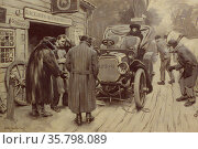 When an owner drives by Walter Appleton Clark (1876-1906) Редакционное фото, агентство World History Archive / Фотобанк Лори