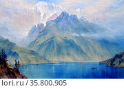 Monte Civetta by Elijah Walton. Редакционное фото, агентство World History Archive / Фотобанк Лори