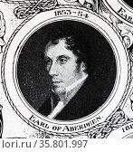 George Hamilton-Gordon; 4th Earl of Aberdeen; Prime Minister of the United Kingdom 1852-1855. Редакционное фото, агентство World History Archive / Фотобанк Лори