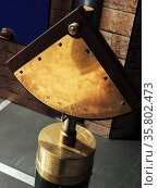 Quadrant, an ancient tool. Islamic astronomers greatly improved the quadrant before introducing it to Europe centuries later. Редакционное фото, агентство World History Archive / Фотобанк Лори