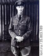 Portrait of Prince Albert (later King George VI) Редакционное фото, агентство World History Archive / Фотобанк Лори