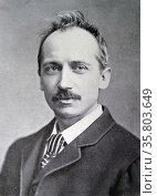 Photograph of William Clark Russell. Редакционное фото, агентство World History Archive / Фотобанк Лори