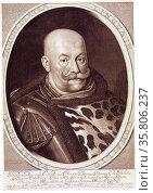 Christoph Radziwi?l (1585-1640) Polish-Lithuanian noble. Редакционное фото, агентство World History Archive / Фотобанк Лори