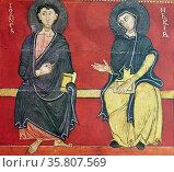 13th Century Altar Frontal. Редакционное фото, агентство World History Archive / Фотобанк Лори