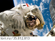 Photograph of Astronaut Piers Sellers. Редакционное фото, агентство World History Archive / Фотобанк Лори