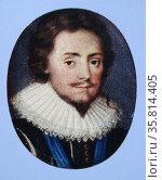 Frederick, King of Bohemia (1596-1632) by Isaac Oliver (1565-1617) Редакционное фото, агентство World History Archive / Фотобанк Лори