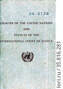 United Nations Charter 1948. Редакционное фото, агентство World History Archive / Фотобанк Лори