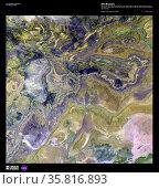 the Anti-Atlas Mountains, part of the Atlas Mountain range. Редакционное фото, агентство World History Archive / Фотобанк Лори