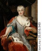 Maria Clementina Sobieska ((1702–1735)a Polish noblewoman. Редакционное фото, агентство World History Archive / Фотобанк Лори