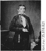 Photograph of Alexander Hamilton Stephens. Редакционное фото, агентство World History Archive / Фотобанк Лори
