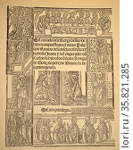 Title Page from Juan Lopez de Palacios Rubios. Редакционное фото, агентство World History Archive / Фотобанк Лори