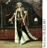 Costume Paintings by Jean Baptiste Vanmour 1737 A.D. Редакционное фото, агентство World History Archive / Фотобанк Лори