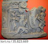 Dip Ankara jataka 2nd century A.D. Редакционное фото, агентство World History Archive / Фотобанк Лори