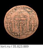 Terracotta plaque 11th century A.D. Редакционное фото, агентство World History Archive / Фотобанк Лори